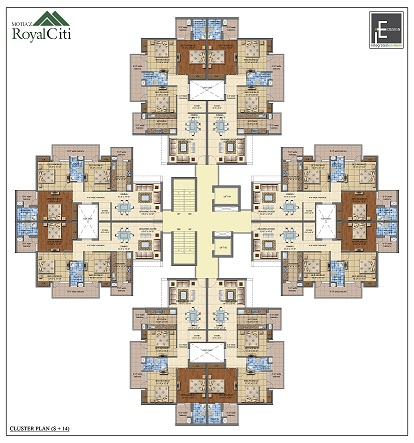 Motiaz Royal Citi Cluster Plan